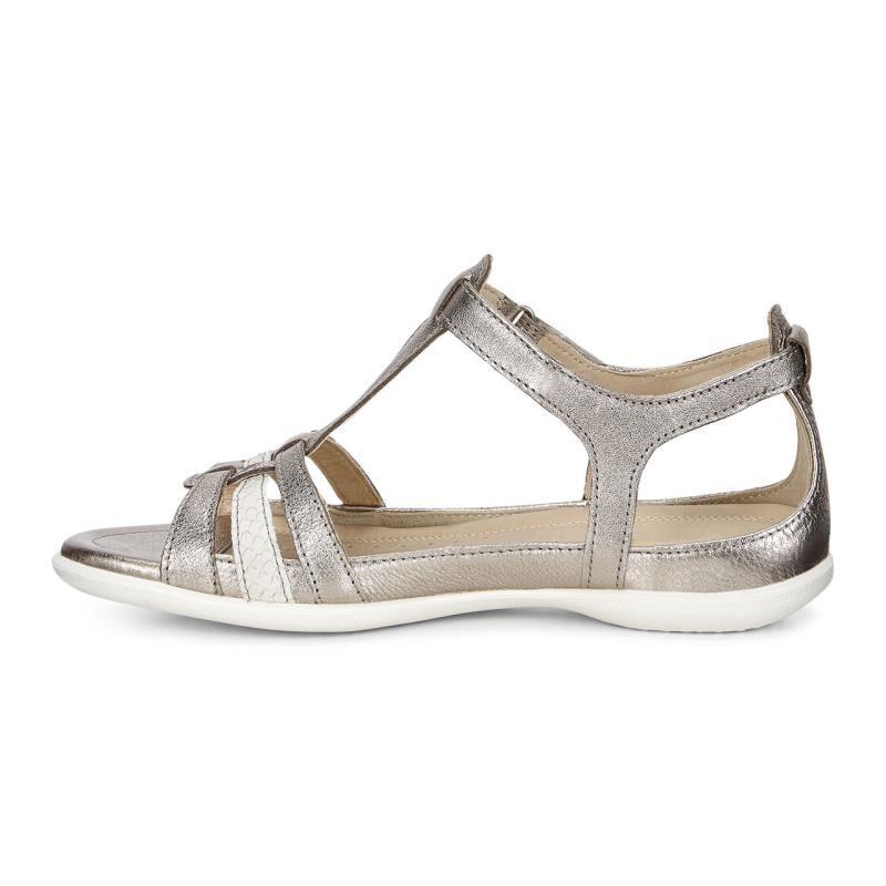 ecco FLASH - Sandals - warm grey metallic/moon rock 561NeLTQ