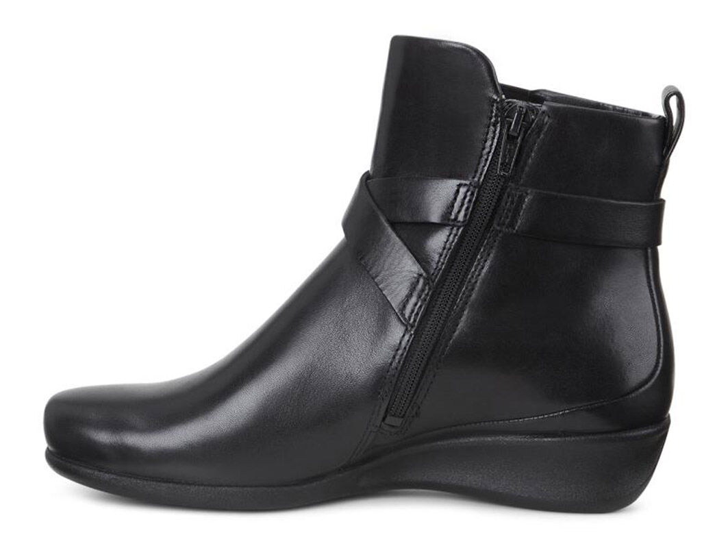 ... ECCO Abelone Cross Buckle BootECCO Abelone Cross Buckle Boot in BLACK  (01001) ...