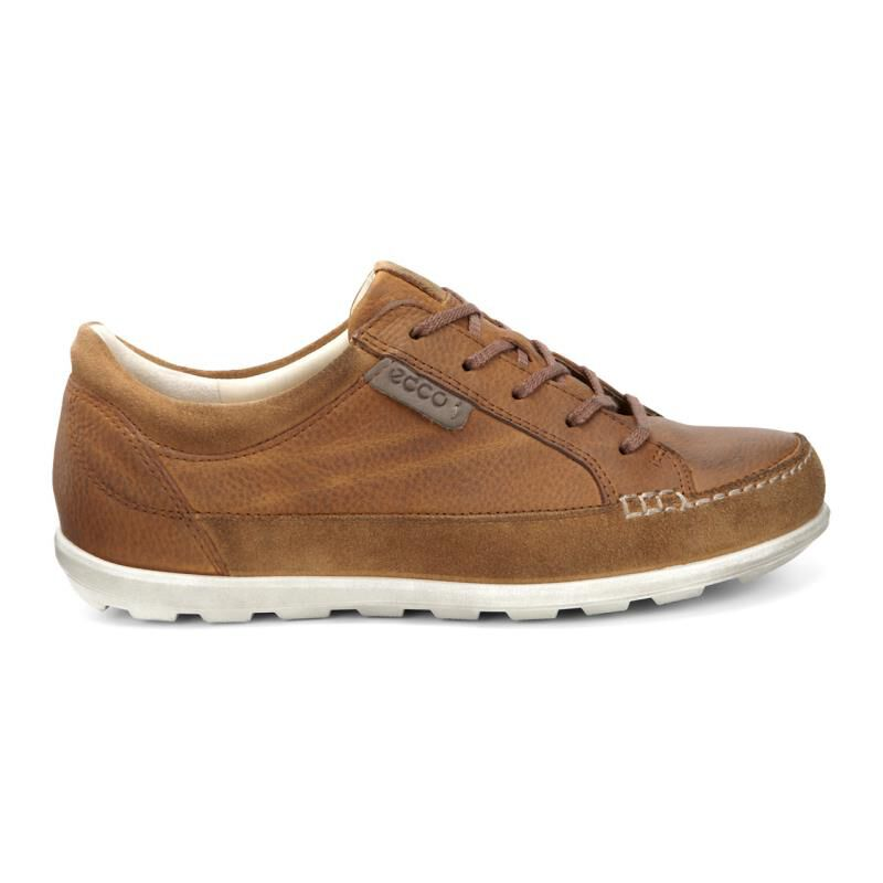 Womens Shoes ECCO Cayla Tie Amber/Amber