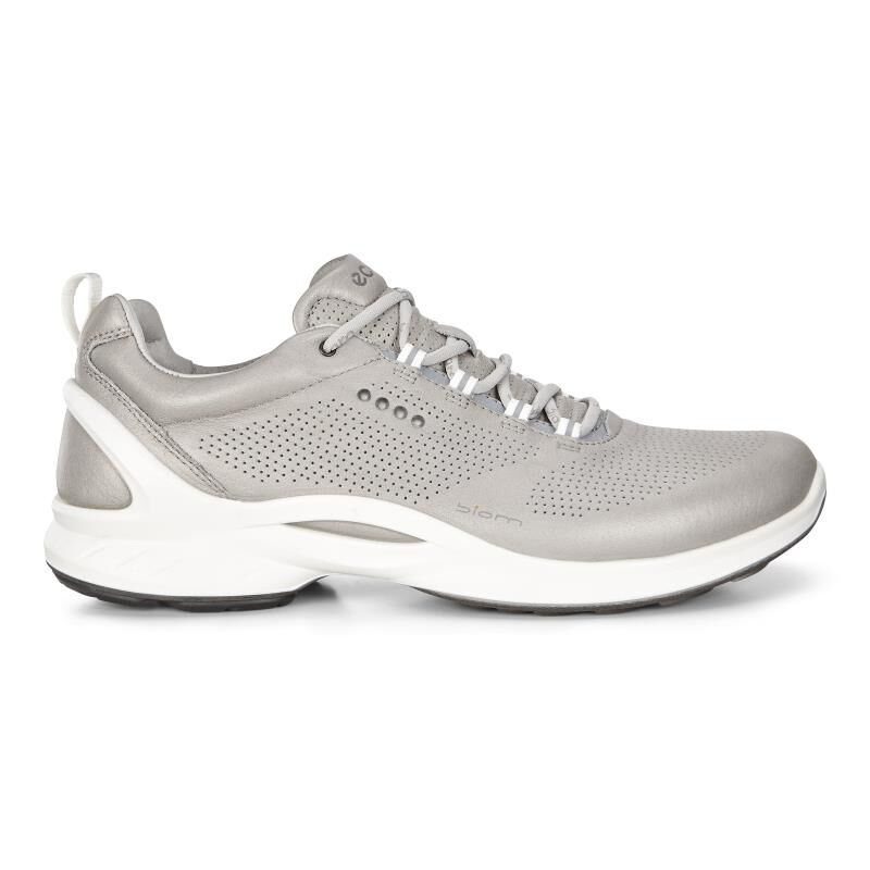 ECCO Mens BIOM Fjuel Train 837514-01177 SILVER GREY