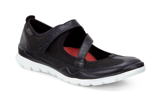 ECCO Womens Lynx Mary Jane (BLACK/BLACK)