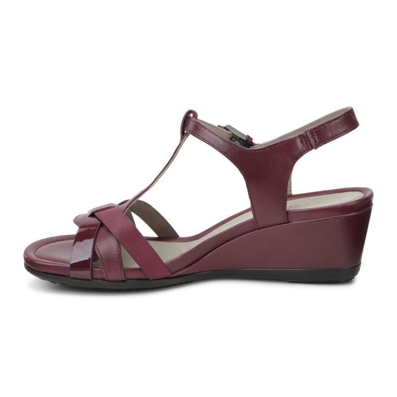 Womens Sandals ECCO Touch 45 T-Strap Sandal Morillo/Morillo