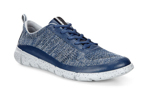 ECCO Mens Intrinsic Knit (TRUE NAVY/CONCRETE)