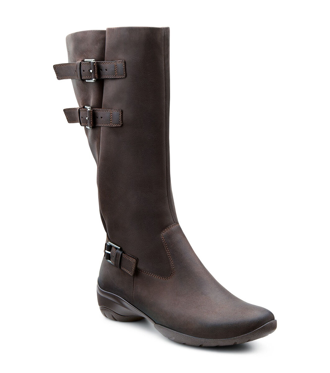 Video; ECCO Rise Tall BootECCO Rise Tall Boot COFFEE (02072) ...