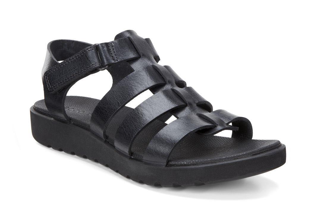 Ecco Store Ecco Womens Freja Ankle Sandal Black