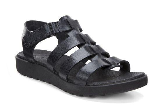 ECCO Freja Ankle Sandal (BLACK)