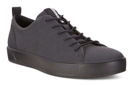 ECCO Mens Soft 8 Tie (BLACK)