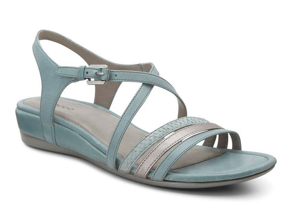 Womens Sandals ECCO Touch 25 Strap Sandal Trooper/Moon Rock/Ice Flower