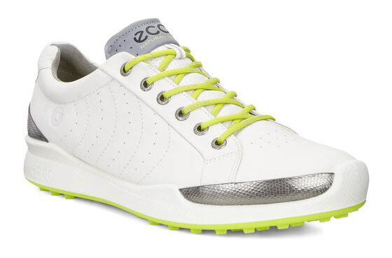 ECCO Mens BIOM Hybrid HM (WHITE/LIME PUNCH)