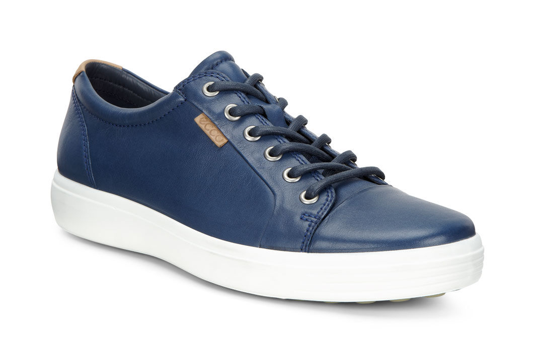 Top Quality Mens Casual Shoes ECCO Soft 7 Navy Online Shop