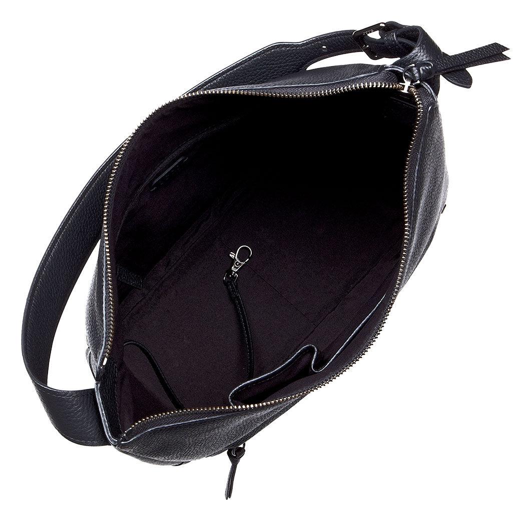 ... ECCO SP Hobo BagECCO SP Hobo Bag BLACK (90000) ...