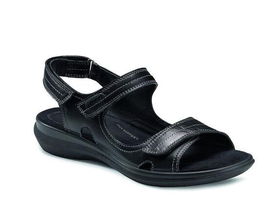 ECCO Breeze Ankle Strap Sandal (BLACK)