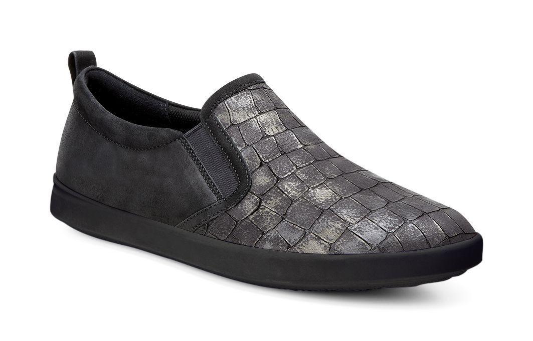 Womens Shoes ECCO Aimee Casual Slip-On Black/Black