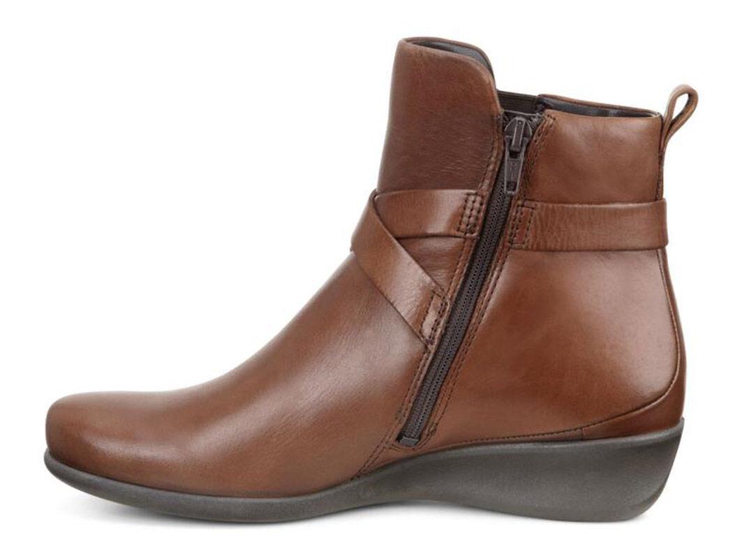 Big Discount Womens Boots Sale ECCO Abelone Mahogany Online Shop