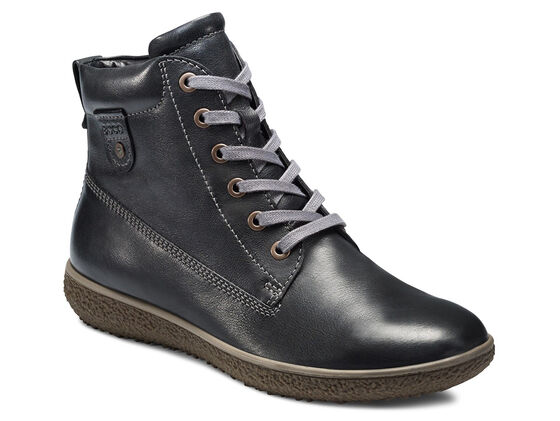 ECCO Aude Lace Boot (BLACK)