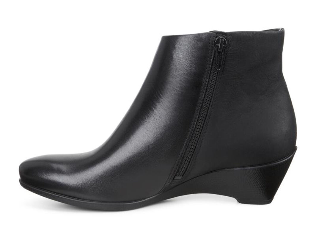 ... ECCO Sculptured 45 W Ankle ZipECCO Sculptured 45 W Ankle Zip BLACK/BLACK  (51052 ...