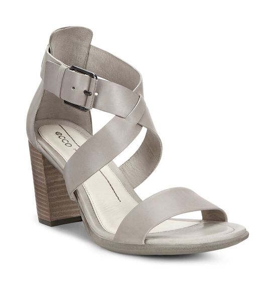 ECCO Shape 65 Block Sandal (MOON ROCK)