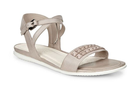ECCO Touch Embellished Sandal (MOON ROCK)