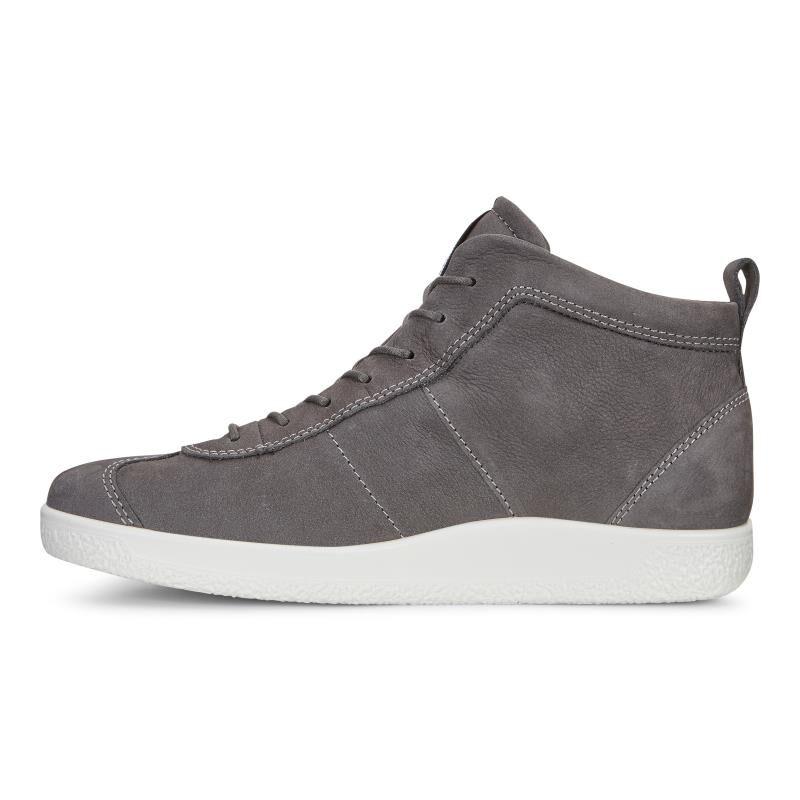 Mens Soft 1 Low-Top Sneakers, Brown Ecco