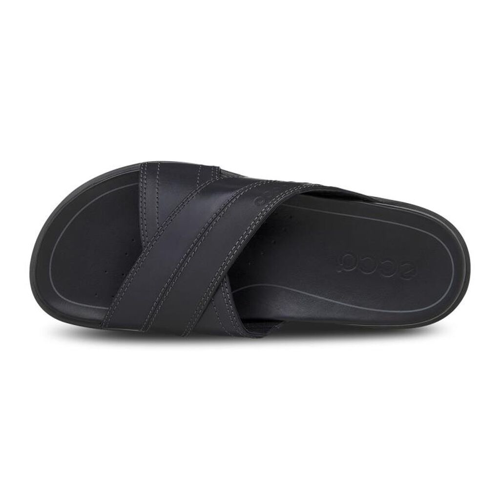 Ecco Chander Cross Slide Mens Sandals Ecco Usa