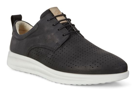 ECCO AQUET MENS Shoe (BLACK)