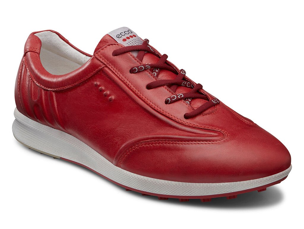 Ecco Red Golf Shoes