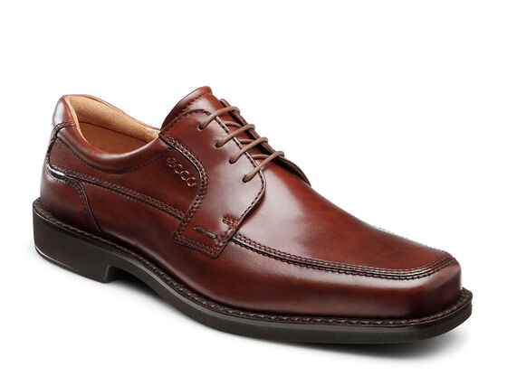 ECCO Seattle Apron Toe Tie (COGNAC)