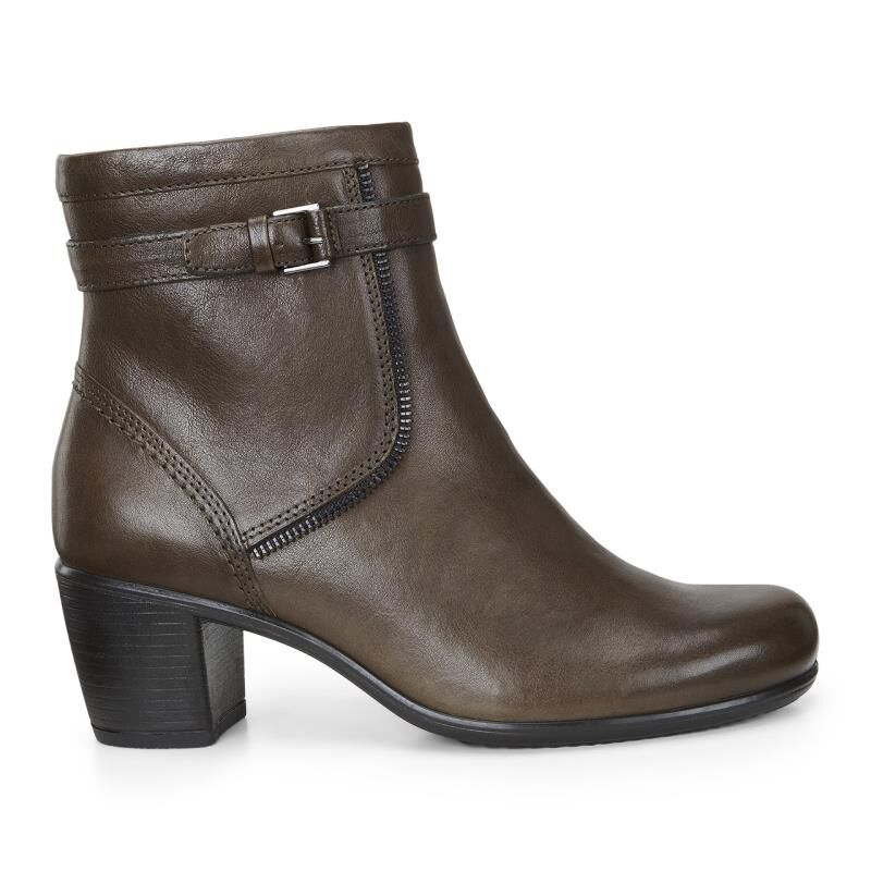 Womens Boots ECCO Touch 55 Bootie Tarmac