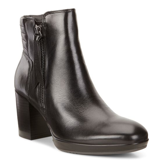 ECCO Shape 55 Chalet Mid Boot (BLACK)