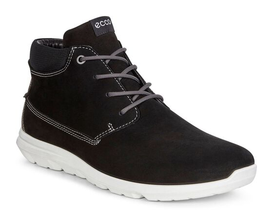 ECCO Calgary Chukka Boot (BLACK/BLACK)