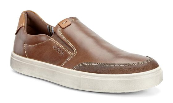 ECCO Kyle Slip OnECCO Kyle Slip On in COCOA BROWN/COCOA BROWN (55778)