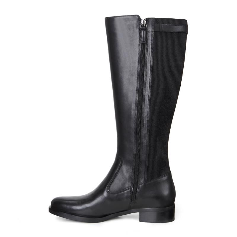 Womens Boots ECCO Adel Tall Boot Black/Black
