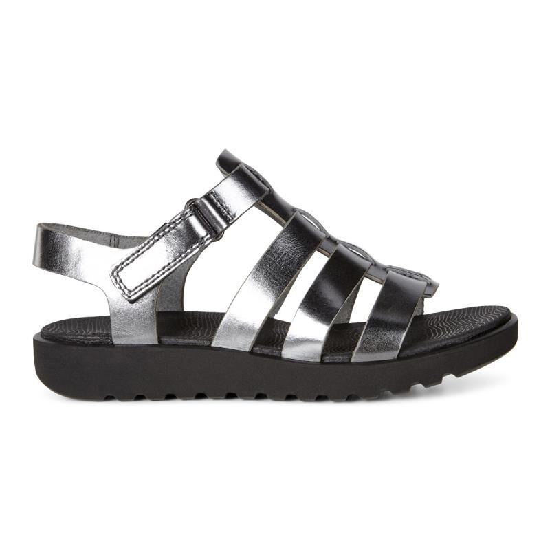... ECCO Freja Ankle SandalECCO Freja Ankle Sandal DARK SHADOW (02602) ...