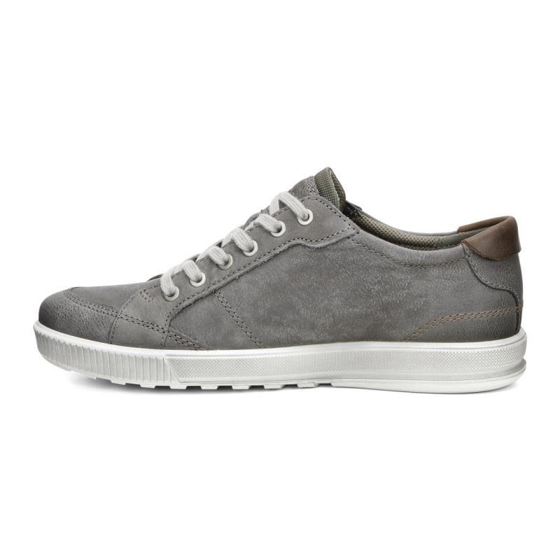 ... ECCO Ennio Retro SneakerECCO Ennio Retro Sneaker WARM GREY/COGNAC  (58267) ...