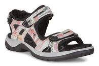 ECCO Womens Yucatan Sandal (WHITE/FLOWER PRINT)