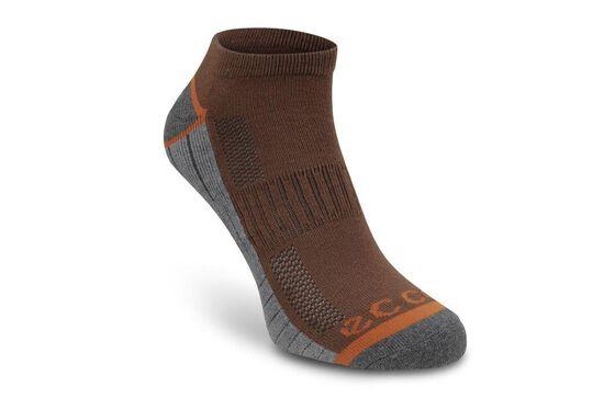 ECCO Mens Golf Sock 2 PK (BLACK/BURGUNDY)