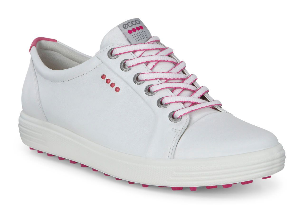 Ecco Casual Hybrid Golf Shoes, White