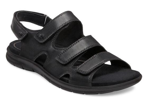 ECCO Babett Sandal 3 Strap (BLACK)