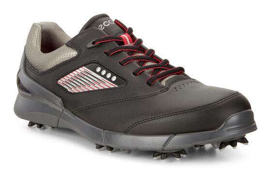 ECCO Mens Golf Base One HM (BLACK/STEEL)