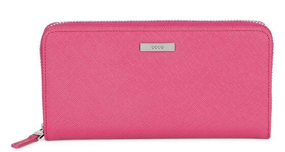 ECCO Haya Large Zip Wallet (MAGENTA)