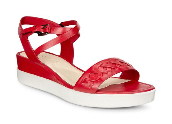 ECCO Touch Braided Plateau (CHILI RED)