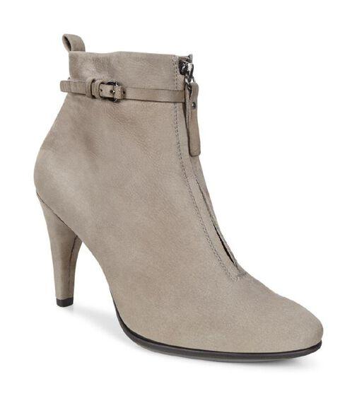 ECCO Shape 75 Sleek Ankle Boot (WARM GREY/WARM GREY)