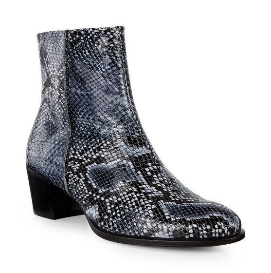 ECCO Shape 35 Snakeskin Boot (TRUE NAVY)