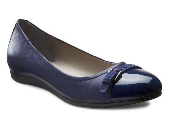 ECCO Touch 15 Ballerina (MIDNIGHT/MIDNIGHT)