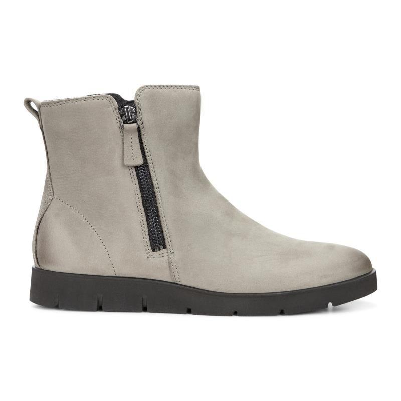ECCO Bella Zip Boot 282013-02375 WARM GREY