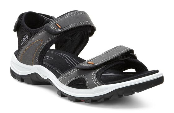 ECCO Wmns Offroad Lite SandalECCO Wmns Offroad Lite Sandal in DARK SHADOW/BLACK (56357)