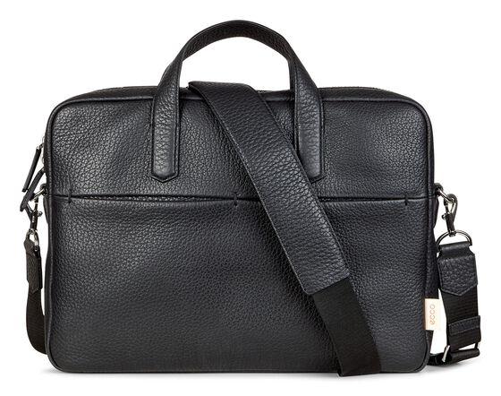 "ECCO Mads Laptop Bag 13"" (BLACK)"
