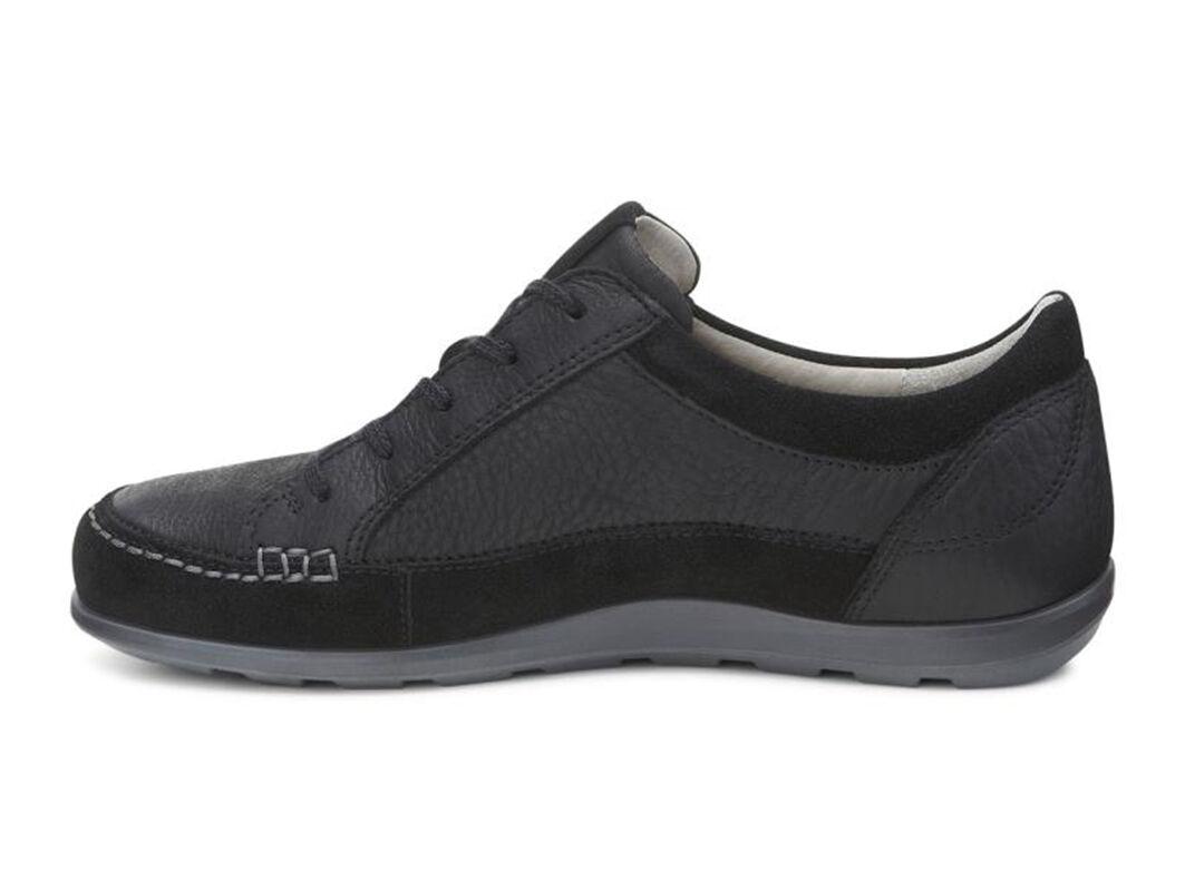 Womens Shoes ECCO Cayla Tie Black/Black