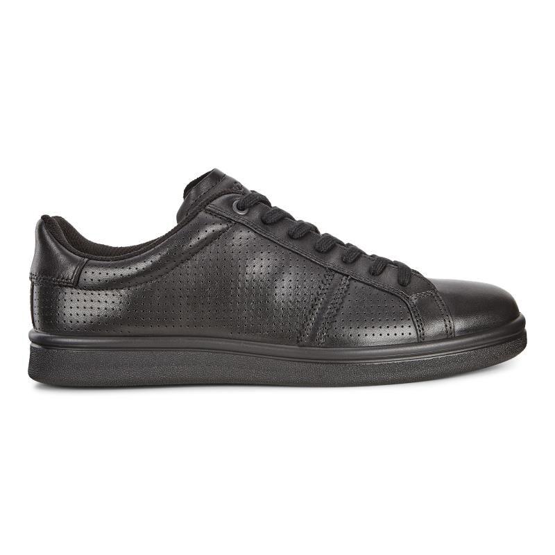 ... ECCO Kallum Premium SneakerECCO Kallum Premium Sneaker BLACK (01001) ...