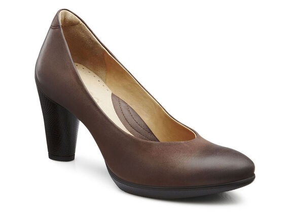 ECCO Sculptured 75 Pump (COFFEE)